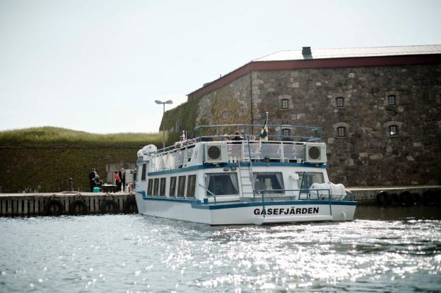 Gåsefjärden lägger till på Kungsholmen