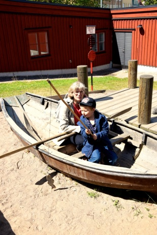 Karlskrona -Fiska med mormor
