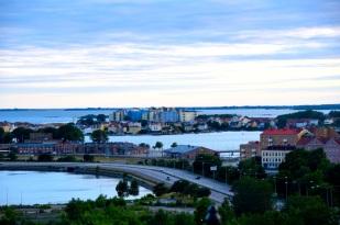 Karlskrona Saltö på långt håll