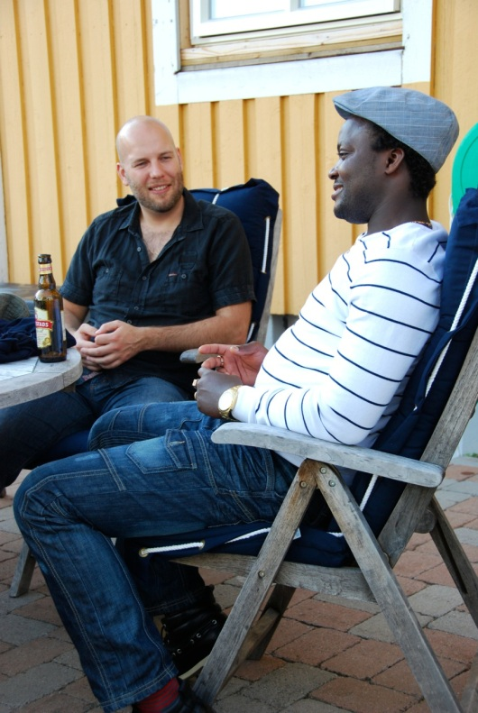 Jörgen och Fabrice
