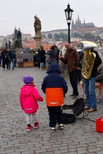 Musiker på Karlsbron
