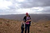 På dryga 2900 m höjd. Kallt!