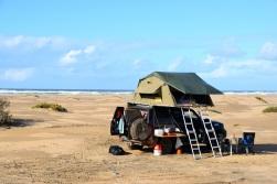 Läger plage blanche