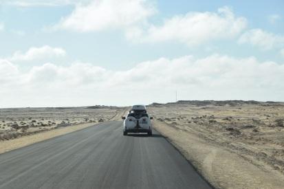 Fin asfaltväg i 1,5 km
