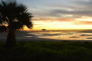 Åt ena hållet: solnedgång över Atlanten