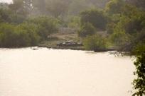 Utsikt från vår lägerplats