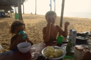 Strandfrukost