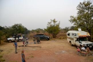 Gemensam vildcamping i nationalparken