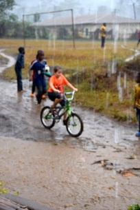 Harald älskar regnet