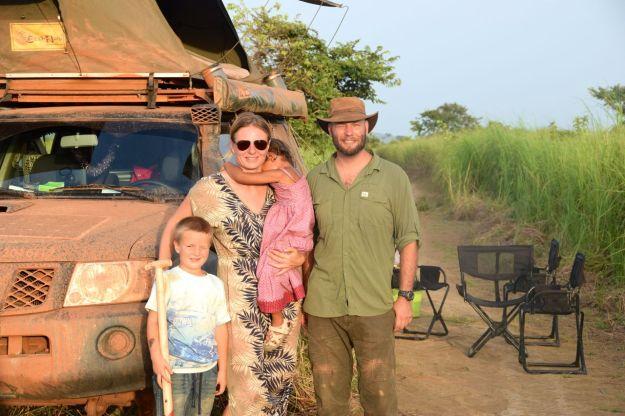 Familjen i Kongo