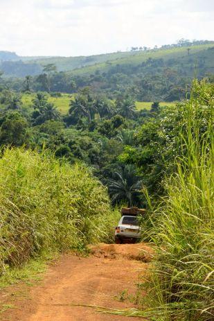 Kongo-K -på väg in i landet 2