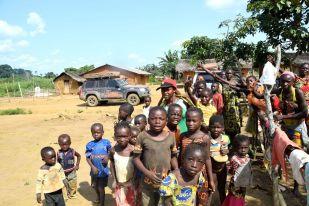 Kongo K -välkommen