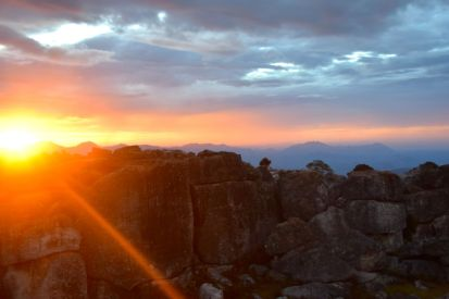 solnedgång Tundavala