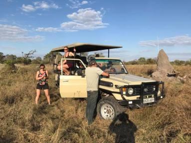 Ida mf på Safaribilen