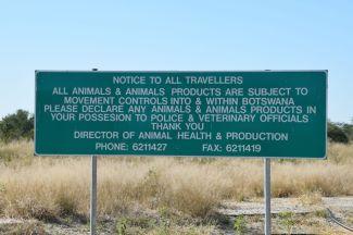Mat in i Botswana