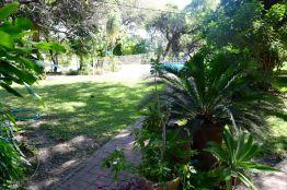 Trädgården hos Mervyn och Terry