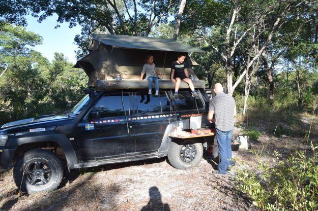 vildcamping dag3 Zambia