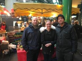 Jörgen, Jen och Mike i London